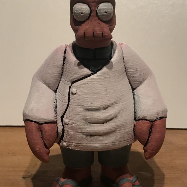 """Dr. Zoidberg from """"Futurama"""""""