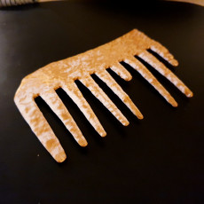 Picture of print of Copper Alloy Comb
