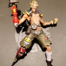 Picture of print of Junkrat - Overwatch- 25 cm model