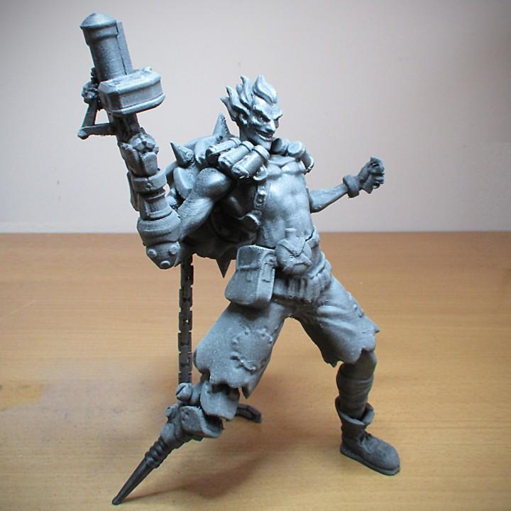 Junkrat - Overwatch- 25 cm model
