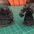 Fire Elemental - DND Miniature print image