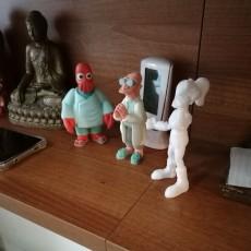 """Picture of print of Professor Farnsworth from """"Futurama"""""""