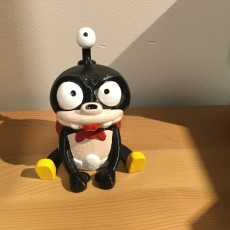 "Picture of print of Nibbler from ""Futurama"""