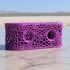 Designer Toothbrushholder ( with Voronoi pattern) print image