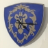 World of Warcraft Emblem of the Alliance Clock image