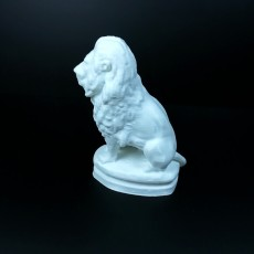 Picture of print of Le Lion assis(remix support free)