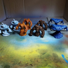 Picture of print of 4 Elemental Pack - Table Top Miniatures
