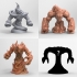4 Elemental Pack - Table Top Miniatures primary image
