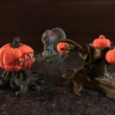 Picture of print of Possessed Pumpkin - Medium Monster