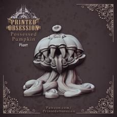 Possessed Pumpkin - Medium Monster