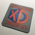 Enterprise XD Design Logo Coaster image