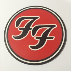 Foo Fighters Logo Coaster