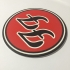 Foo Fighters Logo Coaster image