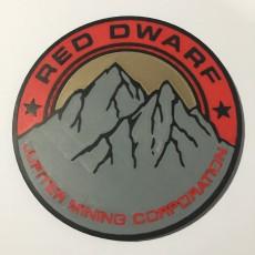 JMC Red Dwarf Patch Coaster