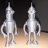 "Bender from ""Futurama"" print image"