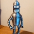 "Bender from ""Futurama"" print image"