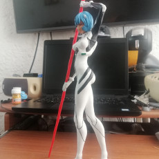 Picture of print of Rei Ayanami - Neon Gensis Evangelion - `40 cm Figurine