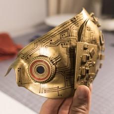 Bionic Cyborg Eyepiece (Eye part only)