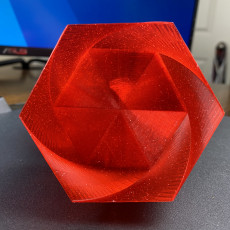 Picture of print of Vase Mode Hex Twist Box
