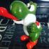 Yoshi from Super Mario World print image