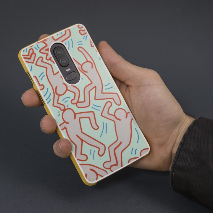 OnePlus 6 Phone Case // Keith Haring