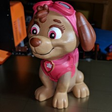 Picture of print of Skye from Paw Patrol