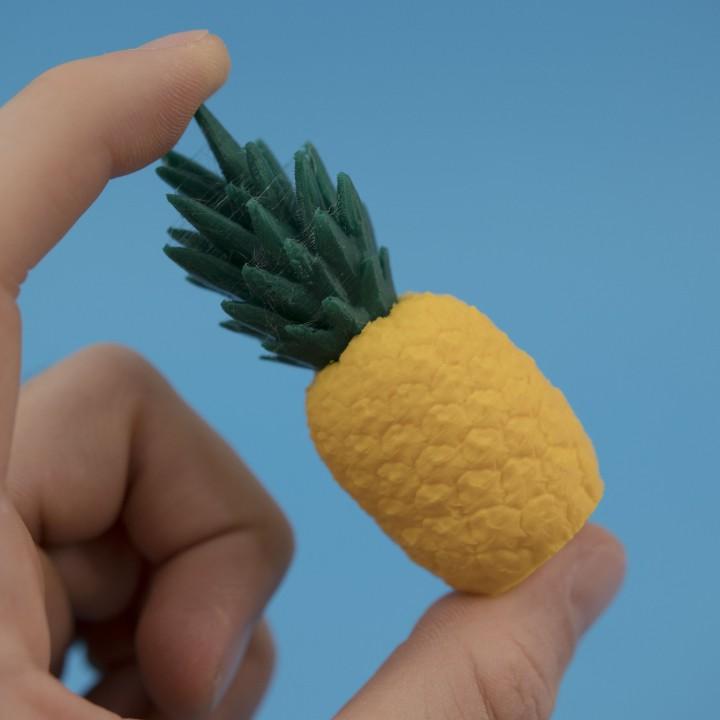 very small Pineapple Pi\u00f1ata