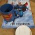 DC comics coaster image