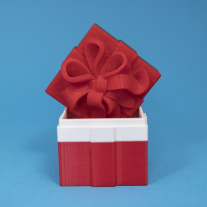 Gift Box Container (Single Color Version)
