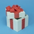 Gift Box Container (Dual Color Version) image