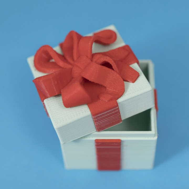 Gift Box Container (Dual Color Version)