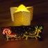 Christmas thealight holder (electronic) image