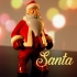 Christmas Collection - with Santa Claus, a Snowman, a Reindeer and a Christmas Elf image