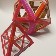 Picture of print of Folding Polyhedra Pack No.1