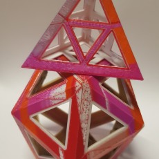 Picture of print of Folding Polyhedra Pack No.1 这个打印已上传 Lee McCulloch