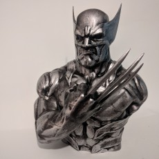 Picture of print of Wolverine-Bust from X-Men