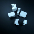 Japan Milling Machine Grade 2 License Examination 3D Model Teaching Material print image
