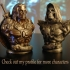 "Skeletor-Bust from ""Masters of the Universe"" (Support Free Model) image"