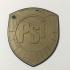 Mega City Judge PSI Division Badge Coaster primary image