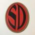 Strontium Dog Badge Coaster image