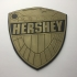 Judge Hershey Badge Coaster image