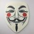 V For Vendetta Guy Fawkes Mask Coaster image