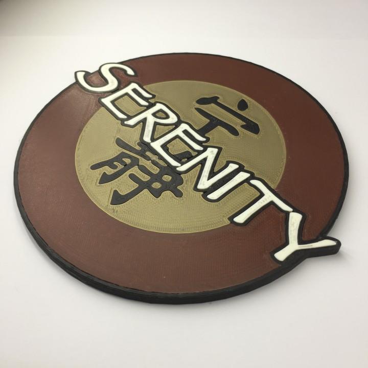 Firefly Transport 'Serenity' Emblem Coaster