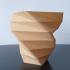 Facet Spiral Vase print image