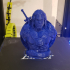 """He-Man Bust from """"Masters of the Universe"""" (Support Free Model) print image"""