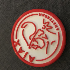 Picture of print of Ajax drink-coaster
