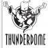 Thunderdome drink-coaster image