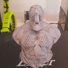 Picture of print of Venom-Bust from Spider-Man