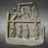 Thracian funerary bas-relief image