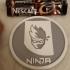 Ninja drinkcoaster pair image